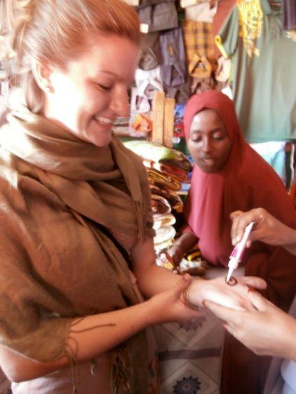 Market Girls Give Us Henna
