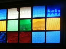 Stained Glass at Rimbaud's