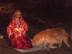 A Harari Bride w/ a Hyena