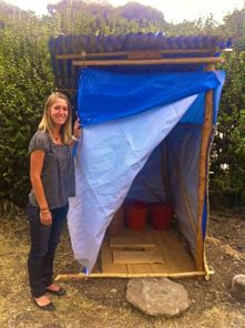 The First Composting Toilet We Made Together
