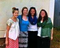 Me, Amy, Nikki and Lauren (PCVL)