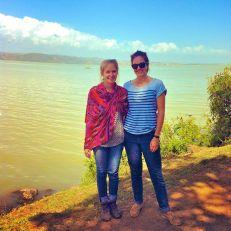 Nikki and I at Lake Tana