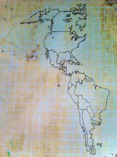 World Map Skeleton