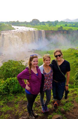 Liben Site Mates and Blue Nile Falls